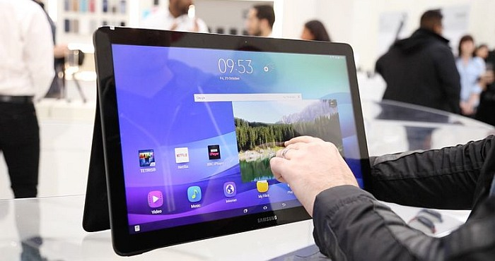 Samsung Galaxy View Comes with a Simply Massive Screen